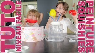 COMMENT PEINDRE SES SQUISHIES ? • HOW TO PAINT SQUISHIES ? - Studio Bubble Tea kids pretend play