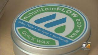 Mountain Flow Eco Wax Makes Eco-Friendly Ski Wax