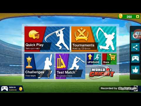 WORLD OF CRICKET !!! game of just 14 mb with test match ,tournaments ,challenges and ouick play