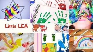Играем с красками. Развлечения для детей.
