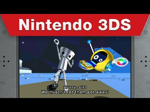 Nintendo 3DS - Chibi-Robo! Zip Lash Gameplay Trailer
