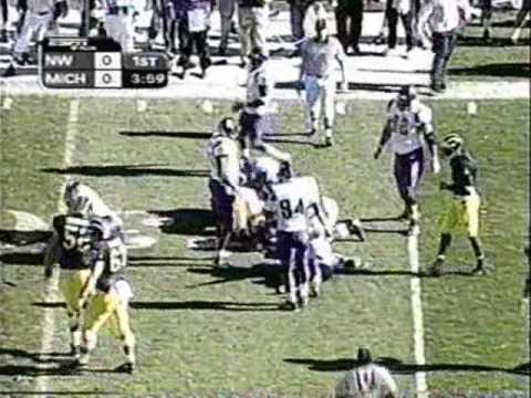 1999: Michigan 37 Northwestern 3