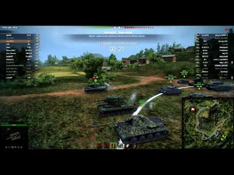 Episode 001 - Parties World of tanks commentées en direct