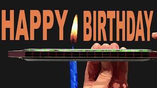 How to Play Happy Birthday an Octave Higher on a Tremolo Harmonica with 16 Holes