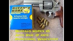 Buffalo Bore 45 Auto Rim +P Wadcutter Anti-Personnel