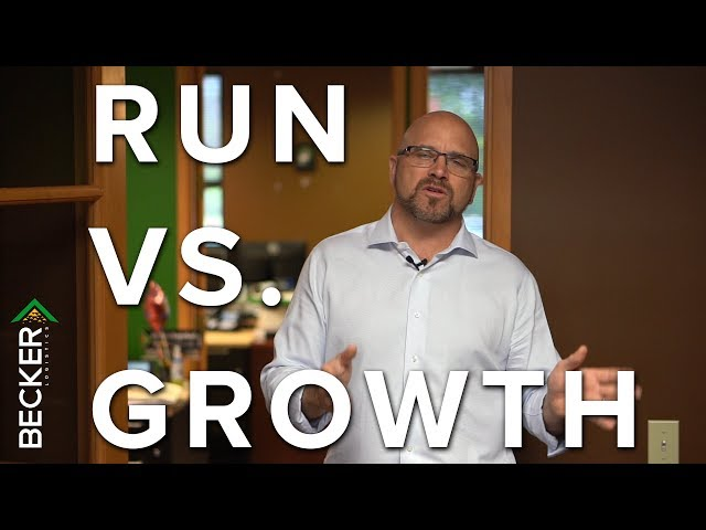 31:One - Run Mode v Growth Mode