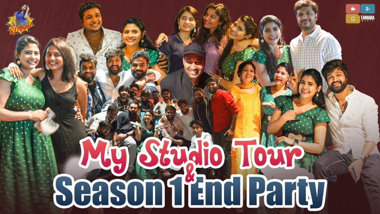 My Studio Tour & Season One End Party || Krazy Talks With Kajal || RJ Kajal  || Tamada Media