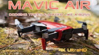 DJI Mavic Air Dodging Trees & Water LIKE A BOSS