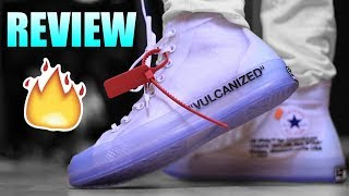 OFF WHITE CONVERSE CHUCK TAYLOR Review !   Off White Converse Chuck Taylor On Feet !