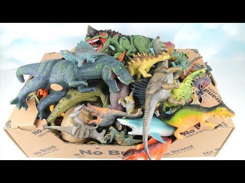 500+ DINOSAURS COLLECTION- Full of Dinosaur Toy Box! Big&Small Dinosaurs Toys Jurassic World! T-Rex