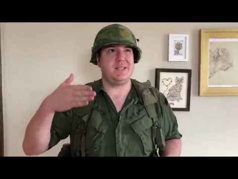 The Vietnam War- Episode 16: Basic M1956 Gear For A U.S. Rifleman.