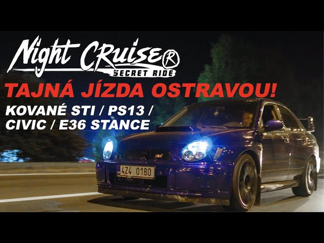 Tajná jízda Ostravou! | Night cruise secret ride