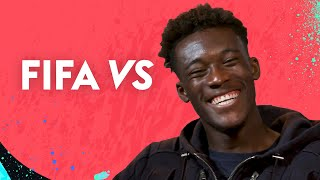 Who does Callum Hudson-Odoi think is the slowest player at Chelsea  FIFA 20 vs Hudson-Odoi