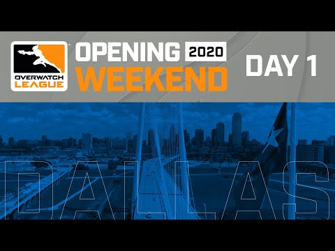 Overwatch League 2020 Season Opening Weekend | Hosted By Dallas Fuel | Day 1