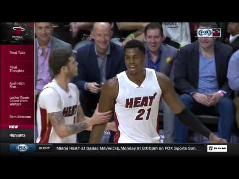February 25, 2017 - FSS - Game 59 Miami Heat Vs Indiana Pacers - Win (27-32)(Heat Live)