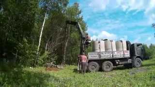 Бурение колодца машинным способом(Бурение колодца машинным способом. Короткое видео о процессе бурения колодца с помощью машины., 2015-06-28T18:05:43.000Z)