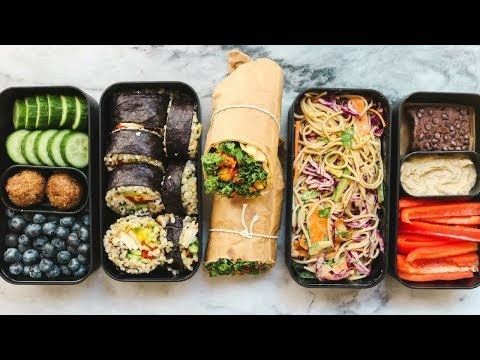 Easy vegan lunch recipes for work