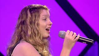 """Chloe Reed of the Dan Kane Singers performs """"Amazing Grace"""" at the ..."""
