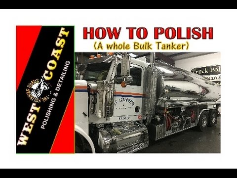 how to polish a whole tanker
