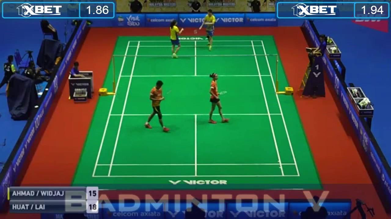 Badminton 2017 MalaysiaMaster GOH Soon Huat LAI Shevon Jemie vs