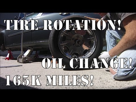 Oil change and tire rotation coupon