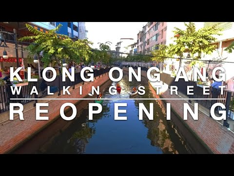 Walking with The Nation Thailand: The Reopening of Klong Ong Ang Walking Street