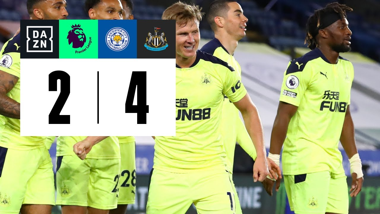 Leicester City vs Newcastle United (2-4) | Resumen y goles | Highlights Premier League