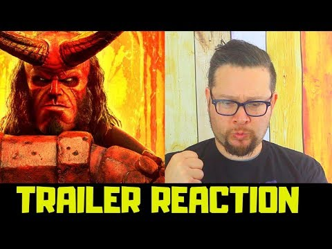 """Hellboy (2019 Movie) New Trailer Reaction """"Red Band"""" – David Harbour, Milla Jovovich, Ian McShane"""
