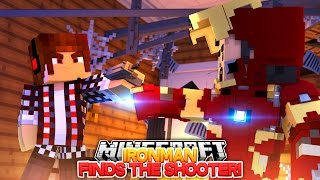 Minecraft Adventure - IRONMAN FINDS THE GUY THAT SHOT HIS GRANDPA!!!