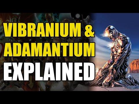 Marvel Comics: Vibranium & Adamantium Explained