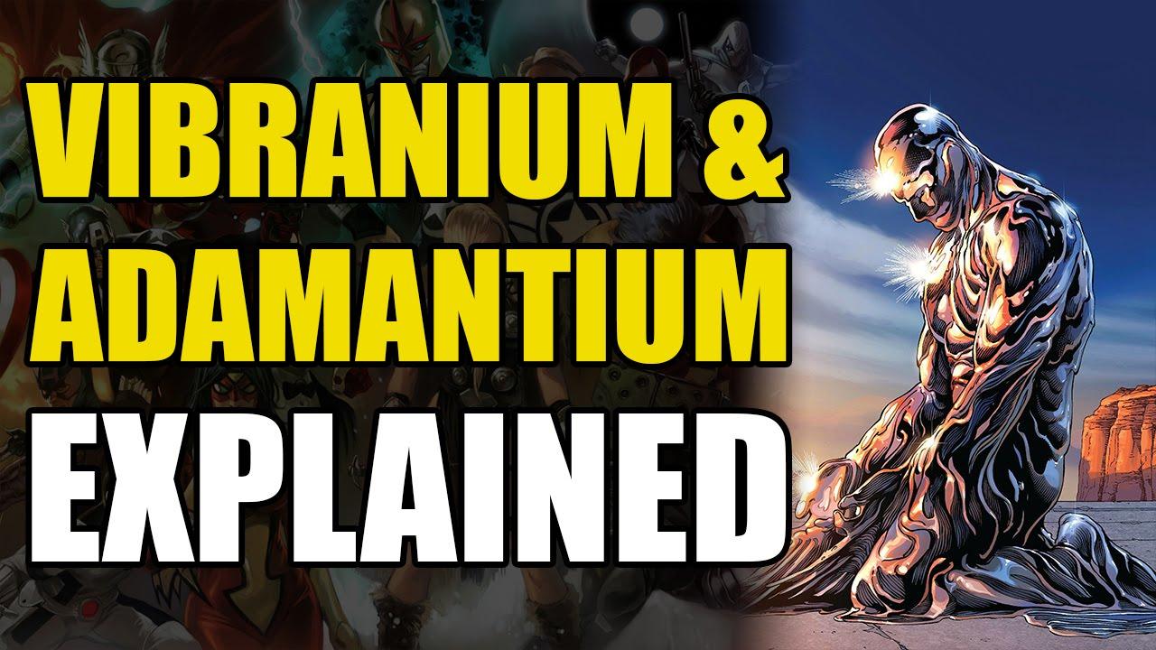 Marvel Comics: Vibranium & Adamantium Explained #1