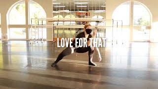LOVE FOR THAT | INT CONTEMP | MORGAN GOODFELLOW CHOREO | INMOTION PERFORMING ARTS STUDIO | FT. ELLA