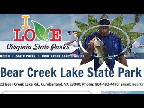 Bass Fish Bear Creek Lake Virginia