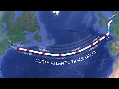This is How pilots manage to cross atlantic