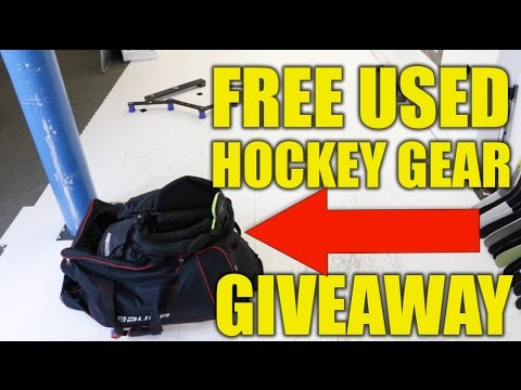 FREE Used Hockey Equipment GIVEAWAY - Winner Selected On 4th March 2017