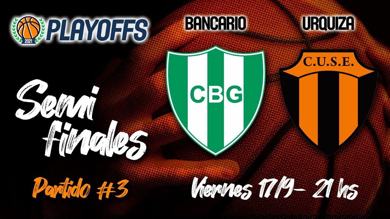 Download Liga Provincial de Mayores: Bancario - Urquiza (Semifinales - Juego 3)