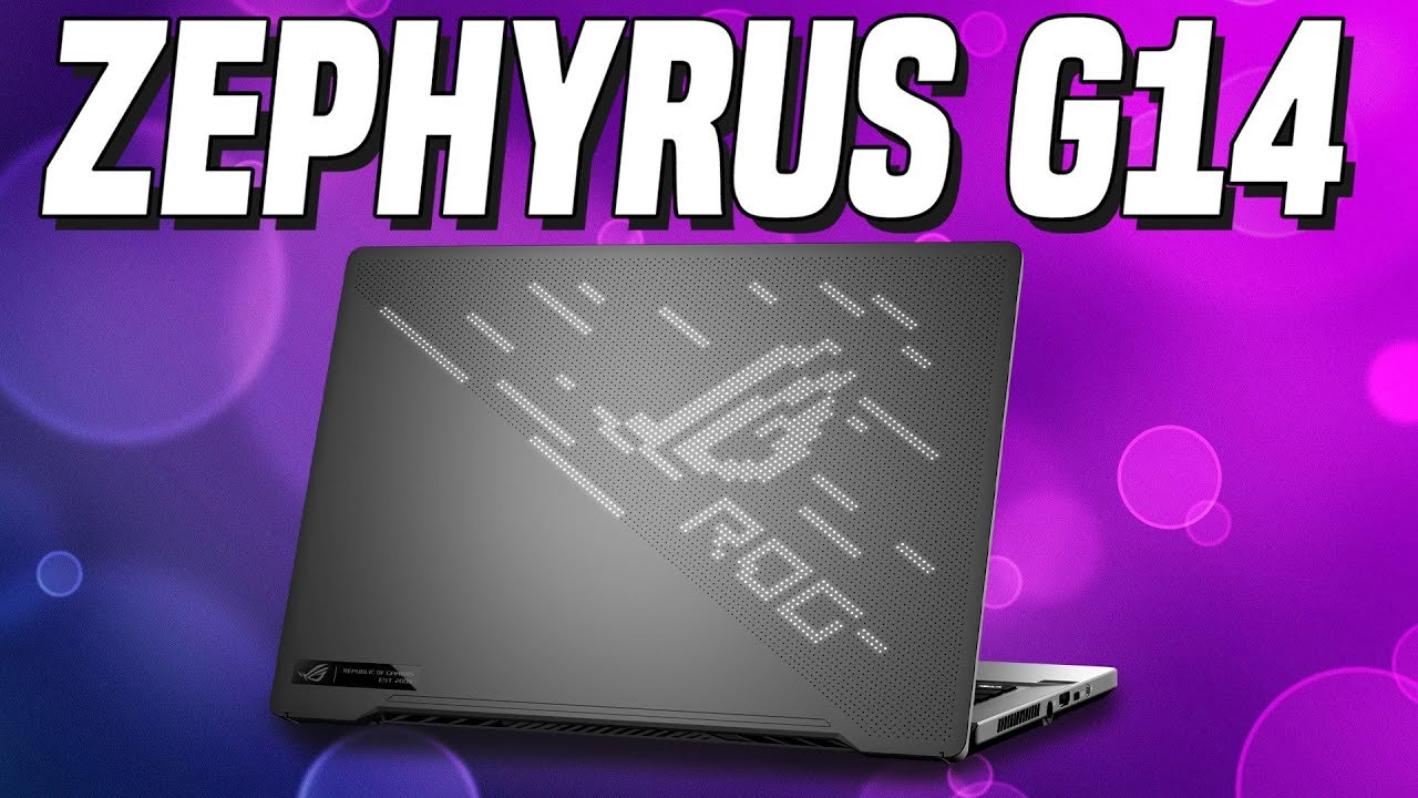 Longest Battery Life Laptop? Asus ROG Zephyrus G14 Ryzen 4800HS Review w/ Benchmarks!