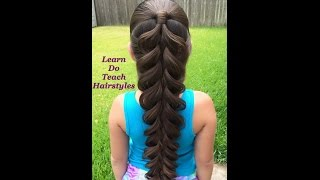 5 Strand - Pull Through Braid Effect