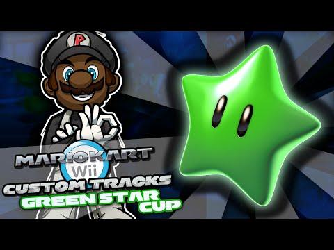 Mario Kart Wii Custom Tracks w/ PKSparkxx | Green Star Cup w/ Robo Mario (Season 2)