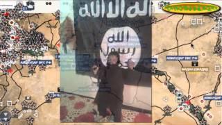 Обзор карты боевых действий в Сирии и Ираке от 10 12 2015 год