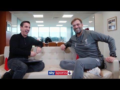 Jurgen Klopp opens up to Gary Neville on Liverpool's Premier League title challenge