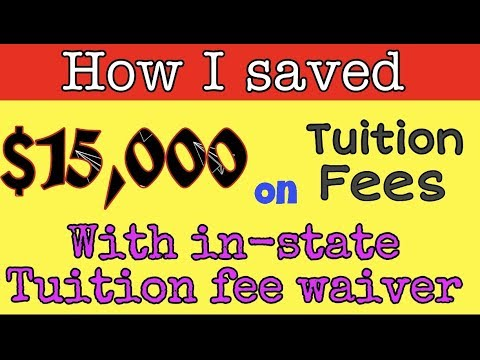Saved $15000 on tuition fees | MS in USA | In state tuition fees