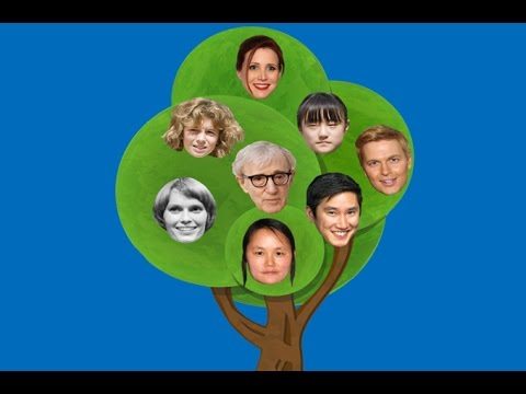 Woody Allen\u0027s family tree is a complicated mess - YouTube