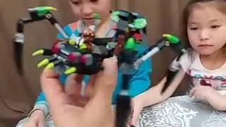 Cобираем конструктор Большого паука/Cobiralas Designer Big spider