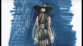 New Zealand Fashion WeekНеделя Моды в Новой Зеландии, как это было, Фэшн Скетчи