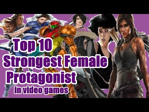 Top 10 Strong Female Protagonists In Video Games