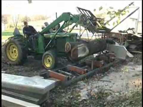 norwood 2000 portable sawmill 1