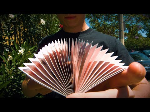 5 Wild Cardistry Tricks (1000FPS) - Beyond Slow Motion