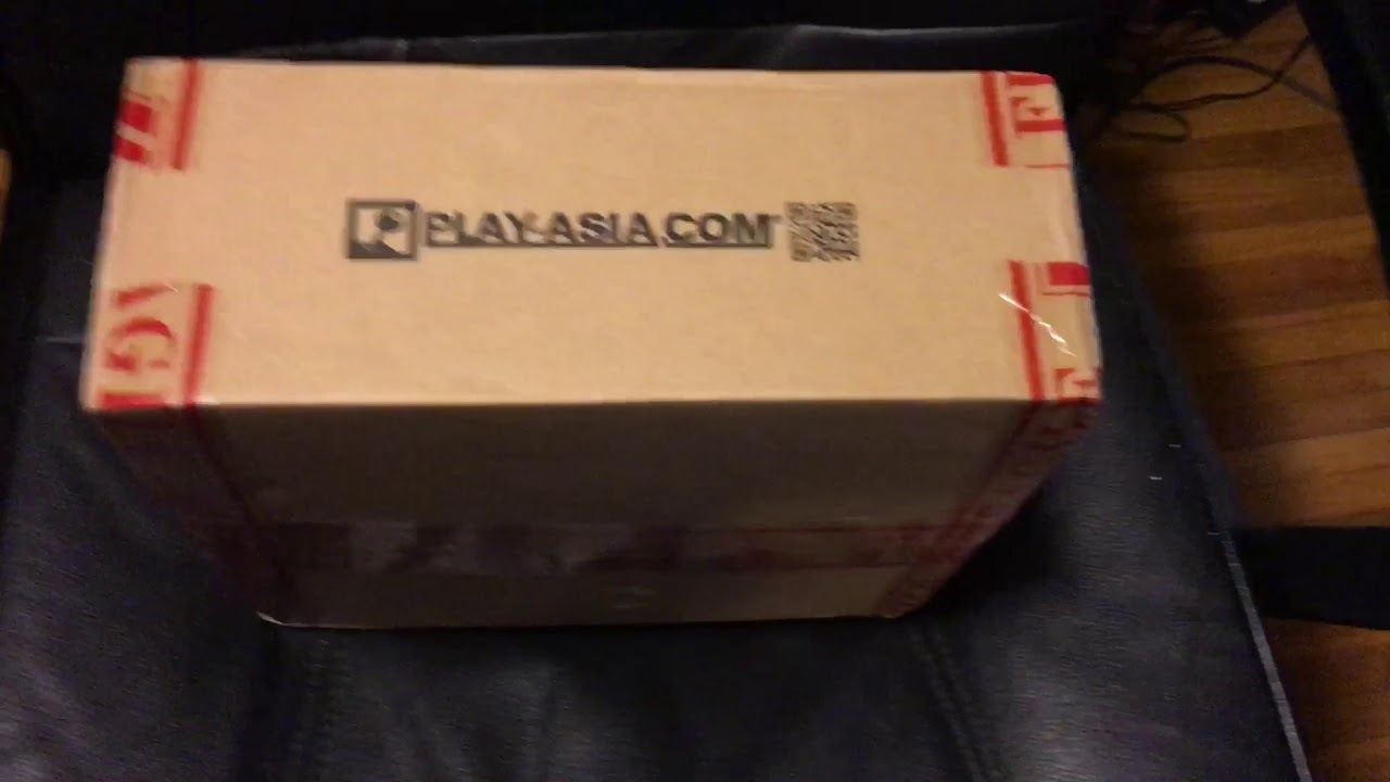 @play-Asia package Unboxing