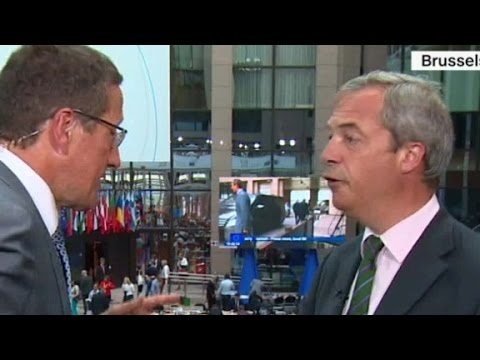 Nigel Farage on Brexit and Donald Trump (Full CNN interview)